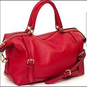 Ora delphine. Leather crossbody purse. Adele.